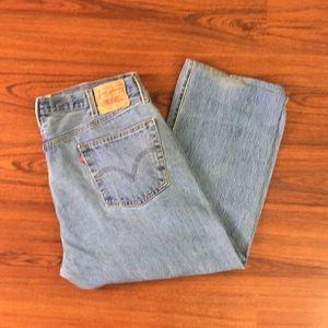 Y2K Vintage Levis 501 Stone Wash Denim Jeans 42